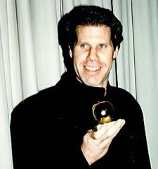 Ron with Golden Apple Award